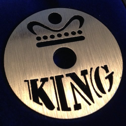 King Label 45 design