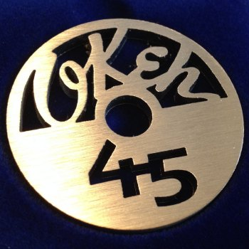 Okeh 45 label design