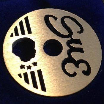 U.S. Sue 45 Label design (stars & stripes)