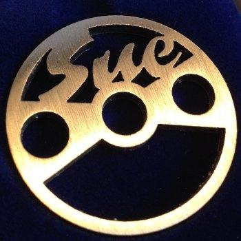 UK Sue 45 label design