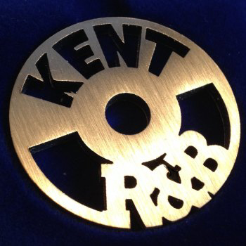 Kent R&B label design