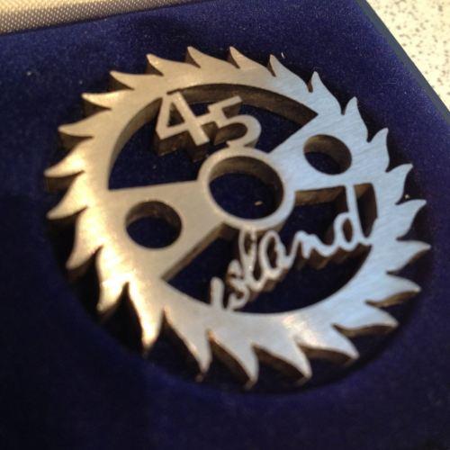 Island label design