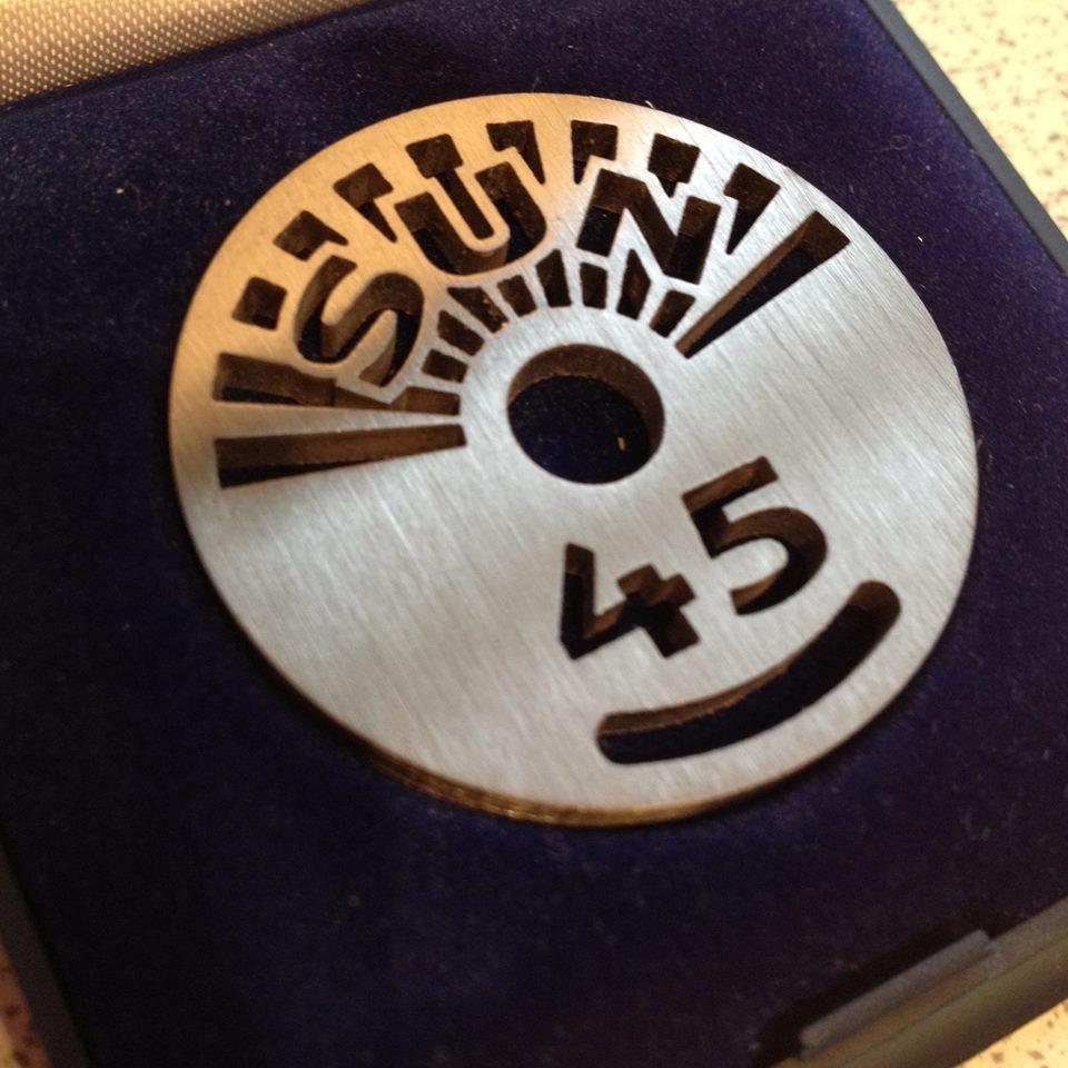 Sun label design