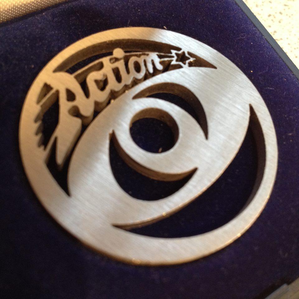 Action UK label design