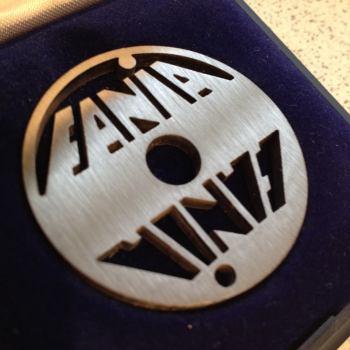Fania double logo design