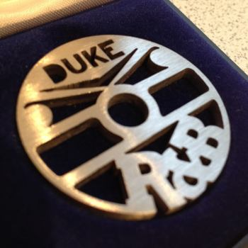 Duke R&B early label design