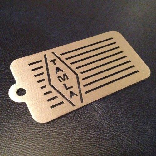 Tamla Striped Label Design