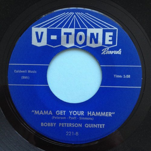 Bobby Peterson Quintet - Mama get your hammer - V-Tone - Ex