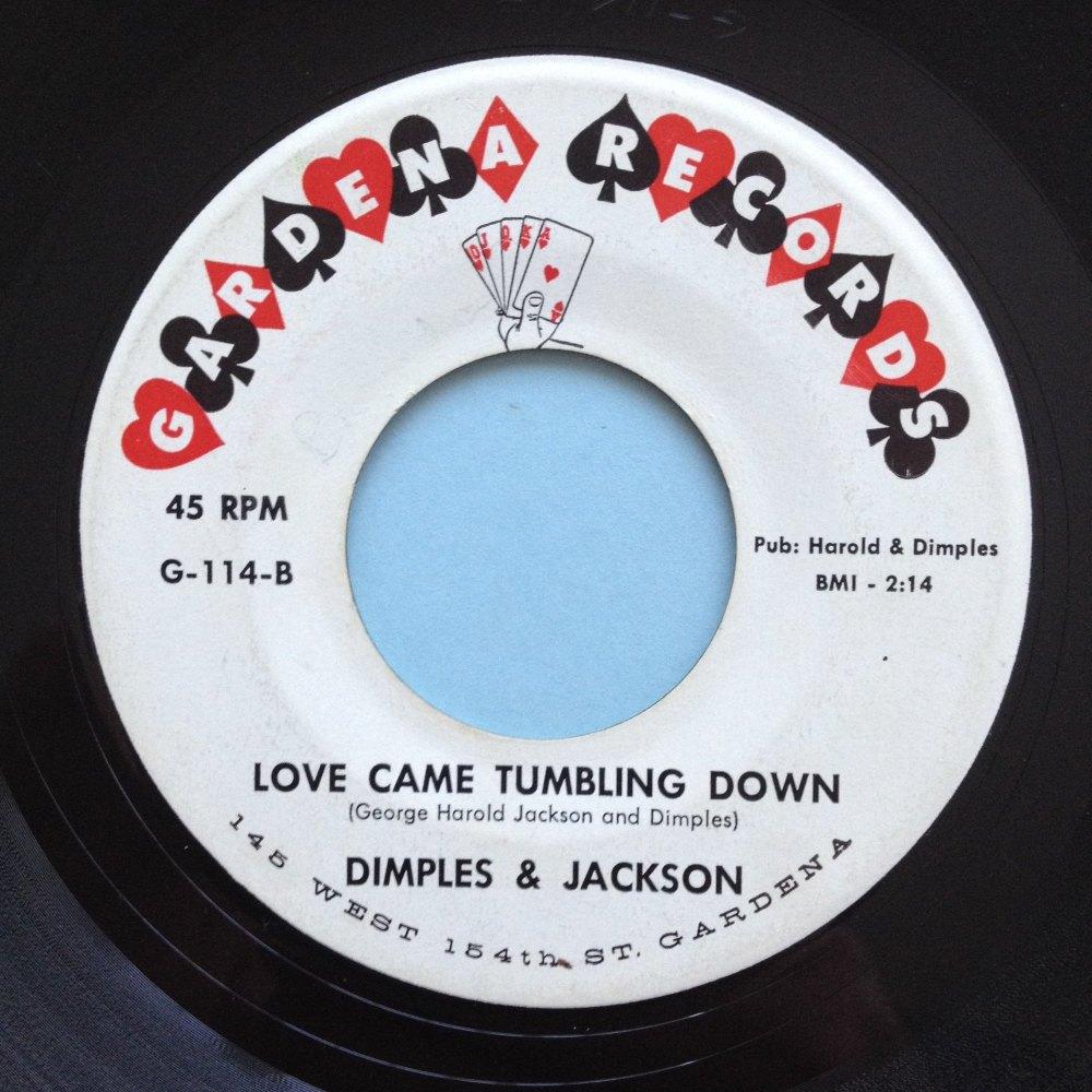 Dimples & Jackson - Love came tumbling down - Gardena - M-
