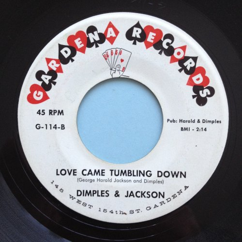 Dimples & Jackson - Love came tumbling down - Gardena - M-