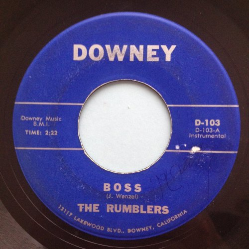 Rumblers - Boss - Downey - Ex-