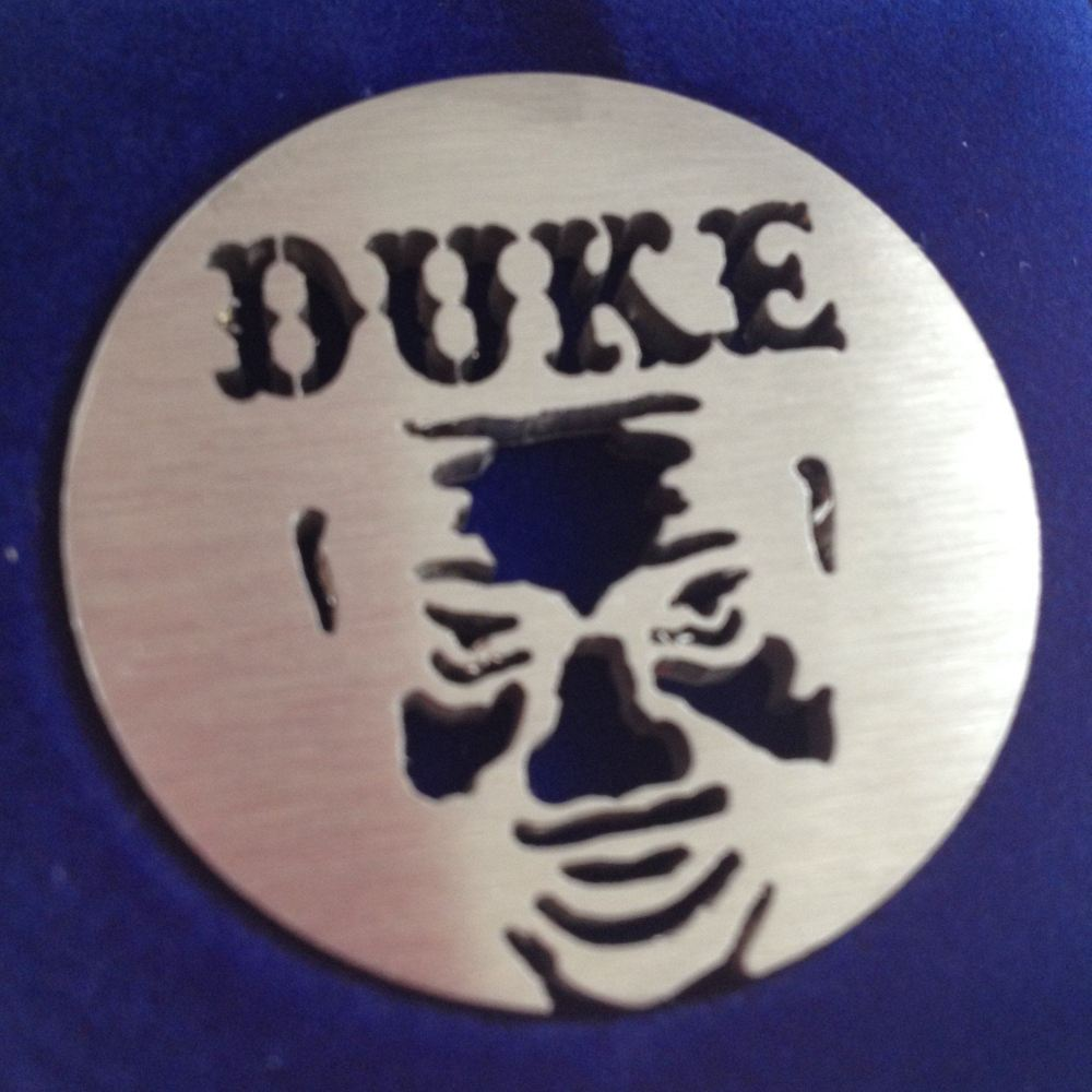 Duke 60s - Bobby Bland silhouette (hold to light for full effect - see extra pic!)