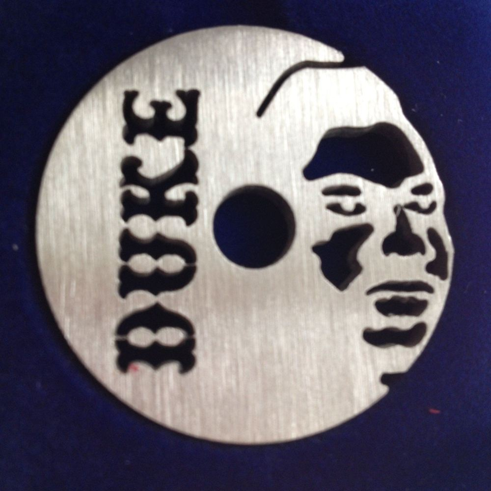 Duke 60s - Buddy Ace silhouette (hold to light for full effect - see extra pic!)