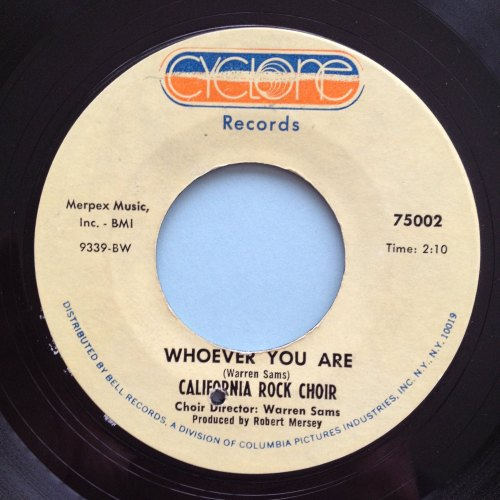 California Rock Choir - Whoever you are - Cyclone Ex