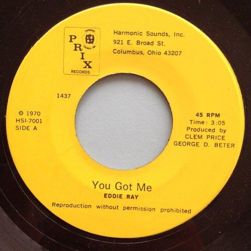 Eddie Ray - Glad I found you - Prix - M-