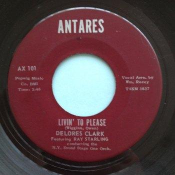 Delores Clark - Livin' to please - Antares - Ex