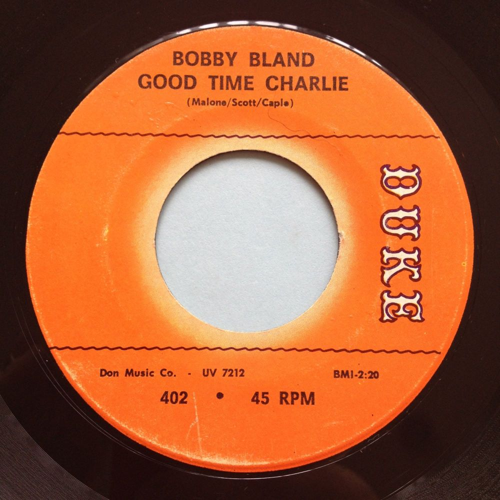 Bobby Bland - Good time Charlie - Duke - Ex