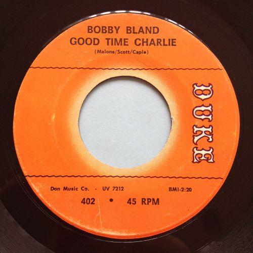 Bobby Bland - Good time Charlie - Duke - Ex