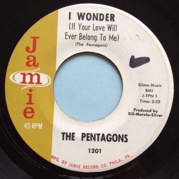 Pentagons - I wonder - Jamie - VG+