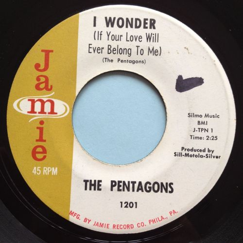 Pentagons - I wonder - Jamie - Ex-