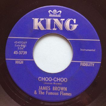 James Brown - Choo-Choo - King - VG+