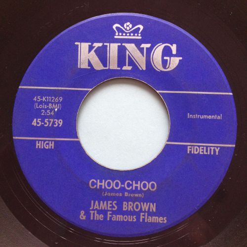 James Brown - Choo-Choo - King - Ex