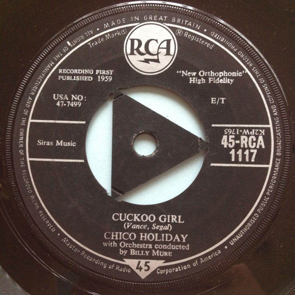Chico Holiday - Cuckoo Girl - UK RCA - Ex