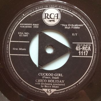 Chico Holiday - Cuckoo Girl - UK RCA - Ex