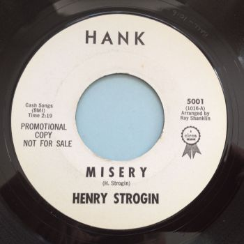 Henry Strogin - Misery - Hank promo - M-