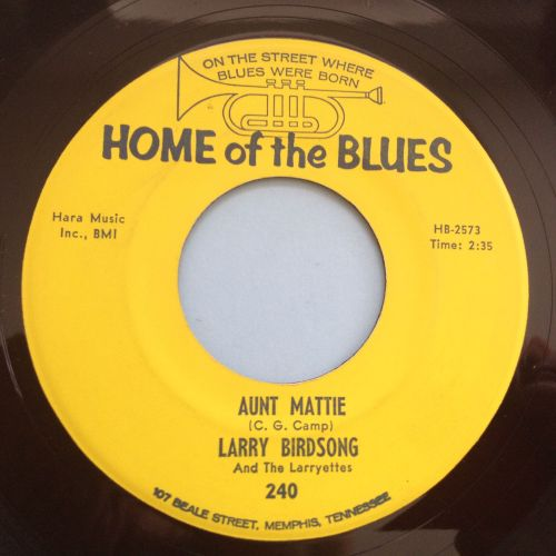 Larry Birdsong - Aunt Mattie - Home of the blues - Ex-