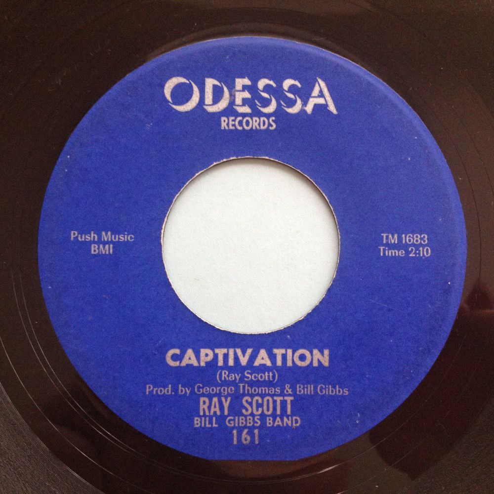 TRADE to Julen Blaka - Roy Scott & Bill Gibbs Band - Captivation - Odessa -