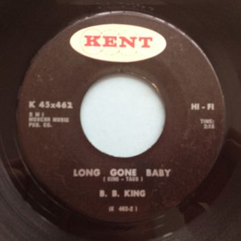 B B King - Long Gone Baby - Kent - Ex-