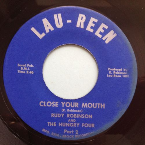 Rudy Robinson & the Hungry Four - Close your mouth - Lau-Ren - Ex