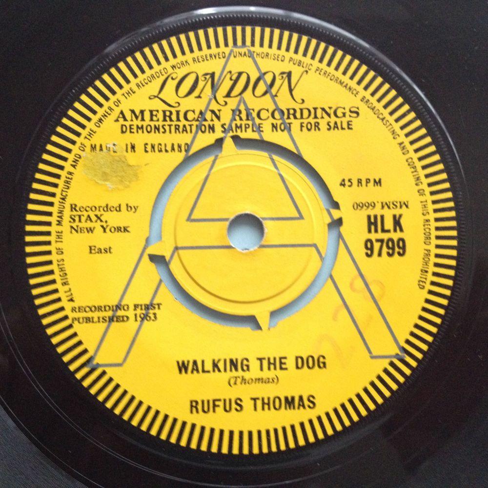 Rufus Thomas - Walking the dog - UK London Demo - VG++