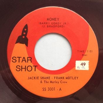 Jackie Shane & Frank Motley - Money - Star Shot (Canadian) - Ex