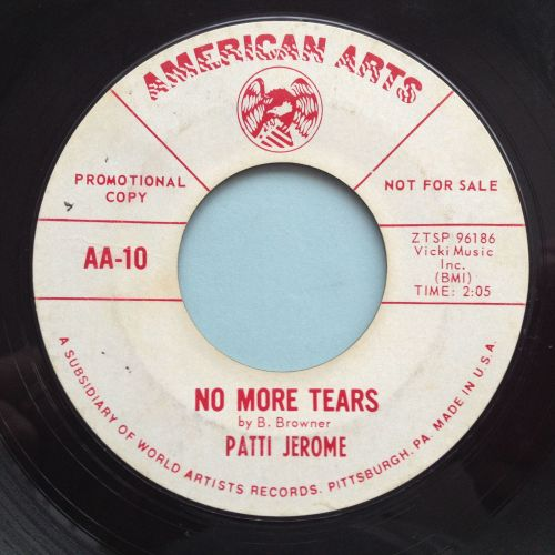 Patti Jerome - No more tears - American Arts Promo - VG+