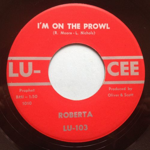 Roberta - I'm on the prowl - Lu-Cee - Ex