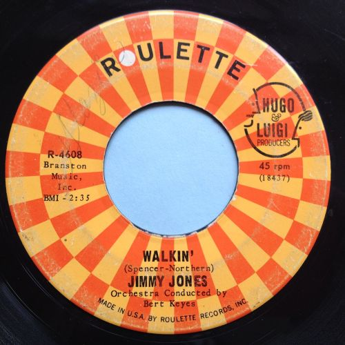Jimmy Jones - Walkin' - Roulette - VG+