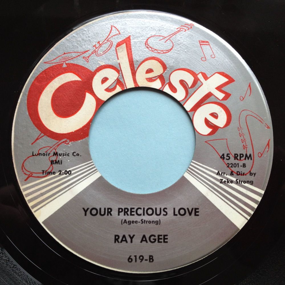 Ray Agee - Your precious love - Celeste - Ex (some slight label wear)