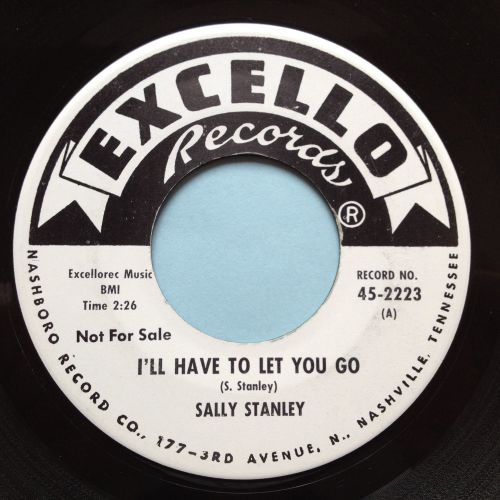 Sally Stanley - I'll have to let you go b/w What it mans to be lonely - Exc