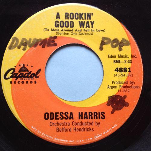 Odessa Harris - A rockin' good way - Capitol - Ex (wol)