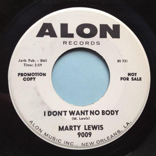 Marty Lewis - I don't want nobody - Alon Promo - Ex