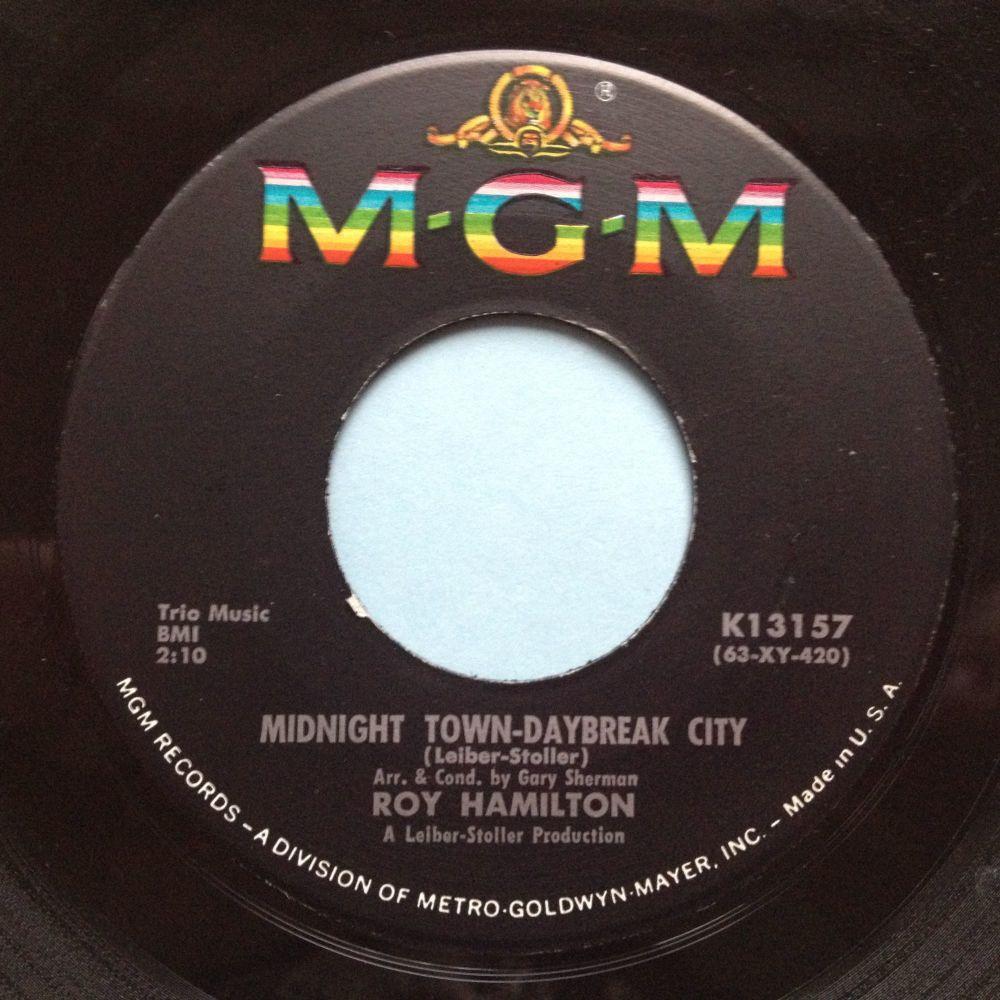 Roy Hamilton - Midnight town, daybreak city - MGM - M-
