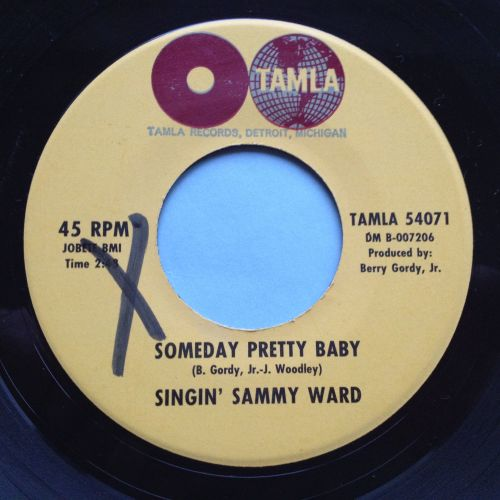 Singin' Sammy Ward - Someday pretty baby - Tamla - Ex