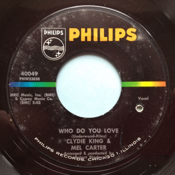 Clydie King & Mel Carter - Who do you love - Philips - Ex