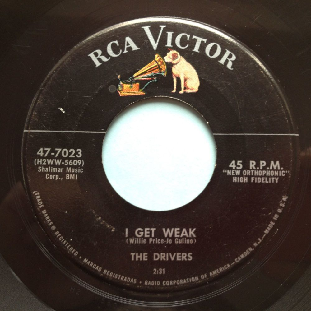 Drivers - I get weak - RCA - Ex