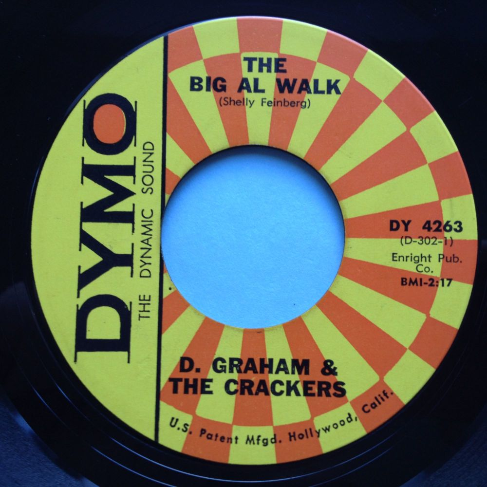 D Graham & the Crackers - The Big Al Walk - Dymo - Ex