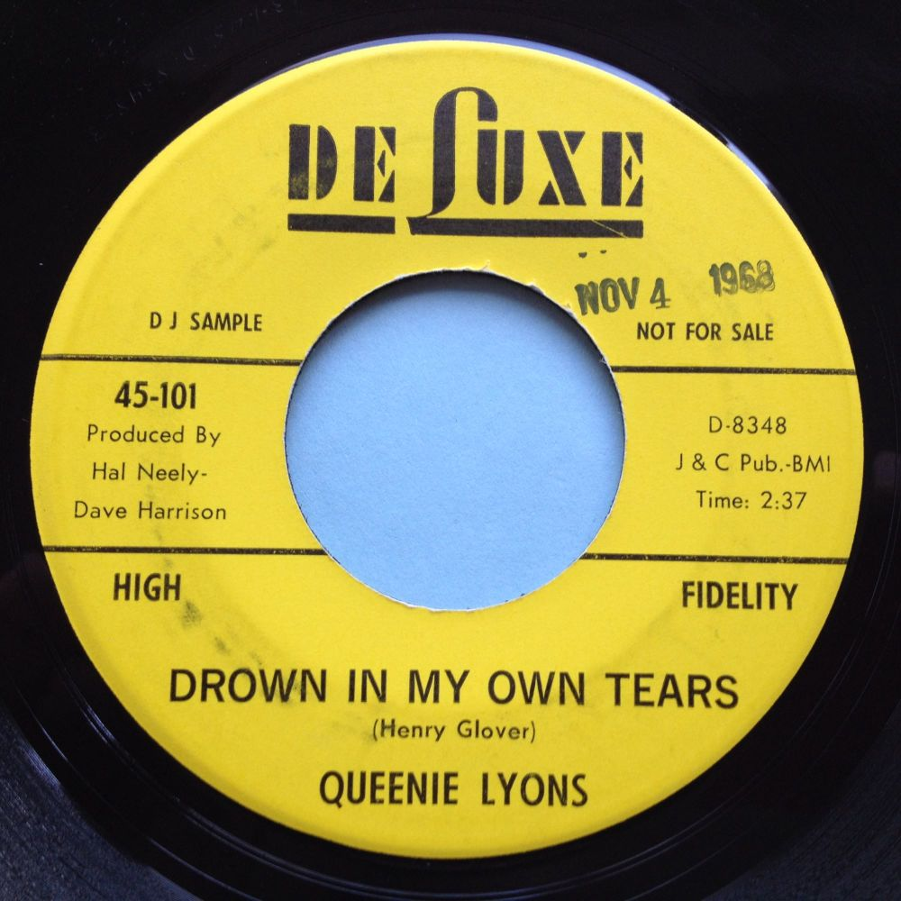 Queenie Lyons - Drown in my own tears - King promo - Ex