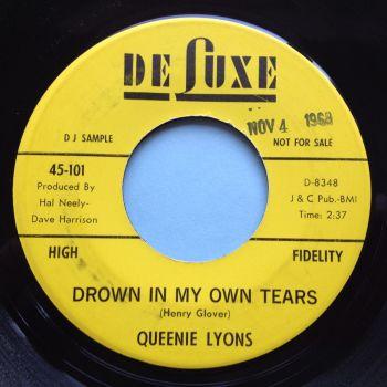 Queenie Lyons - Drown in my own tears - King promo - Ex