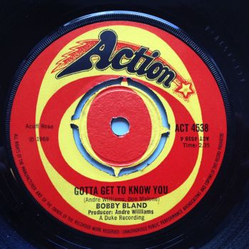 Bobby Bland - Gotta get to know you - UK Action - Ex